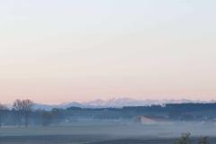 die Alpen, Blick nach Süden