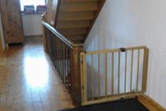 Kindergitter an den Treppen